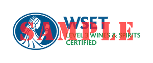 WSET® Certified Level 3 Sample Logo