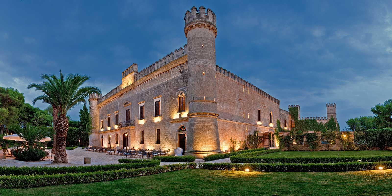 WSET courses in Puglia Castello Monaci