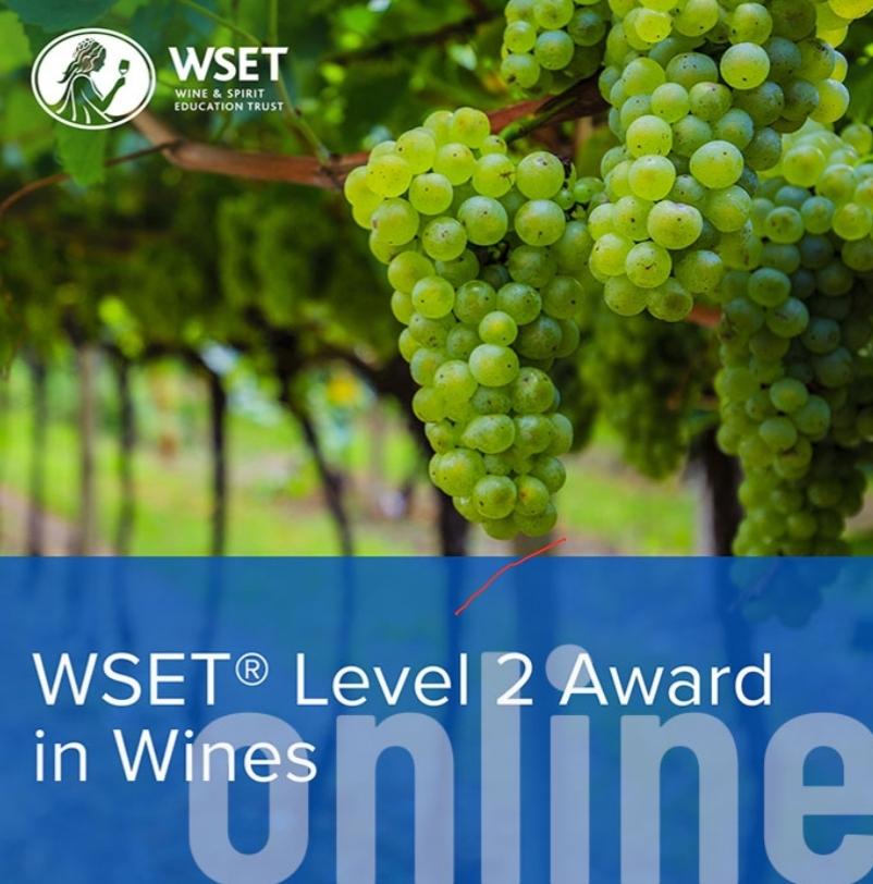 ONLINE WSET Level 2 Award in Wines