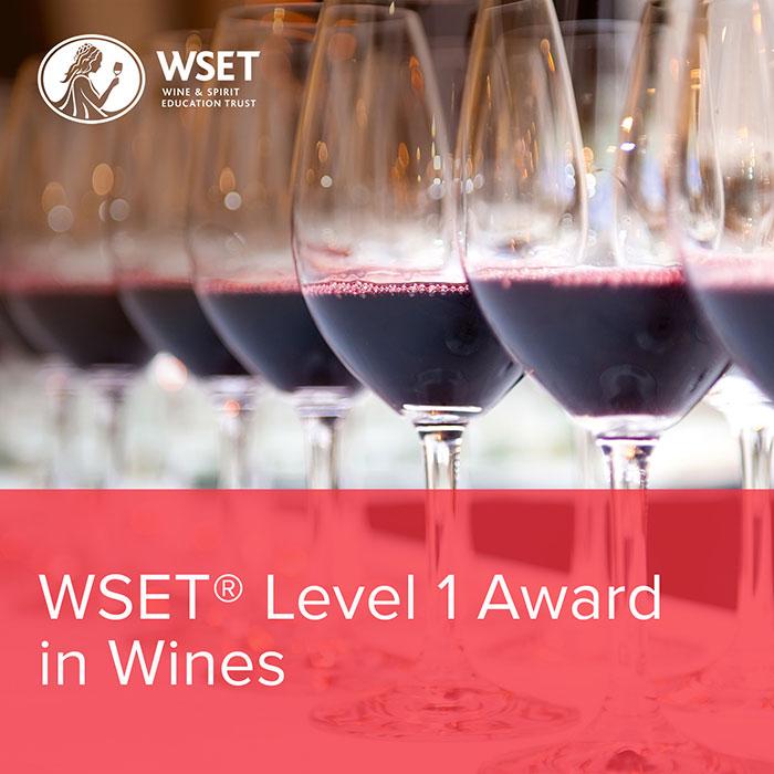 WSET Level 1 | Award in Wine