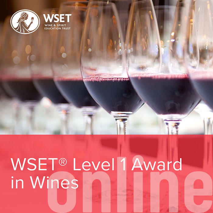 WSET Level 1 | Award in Wine - Online