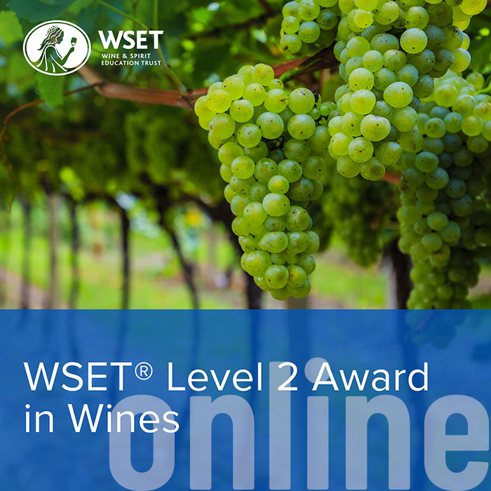 WSET Level 2   Award in Wine - Online