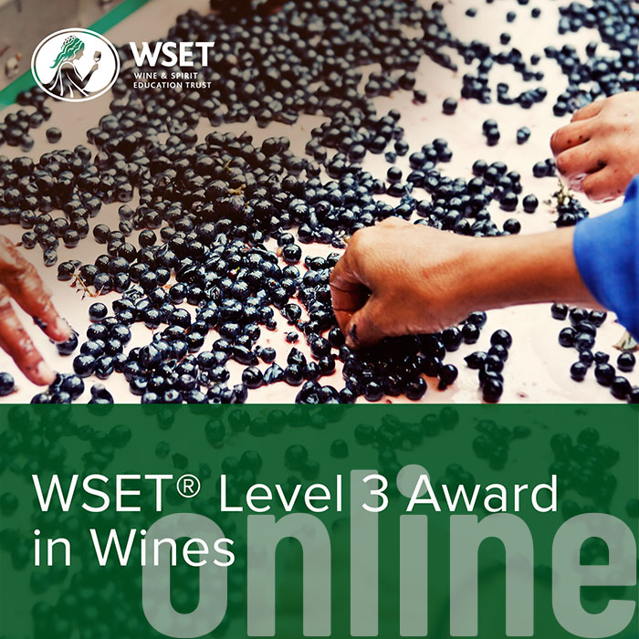 WSET Level 3 | Award in Wines - Online