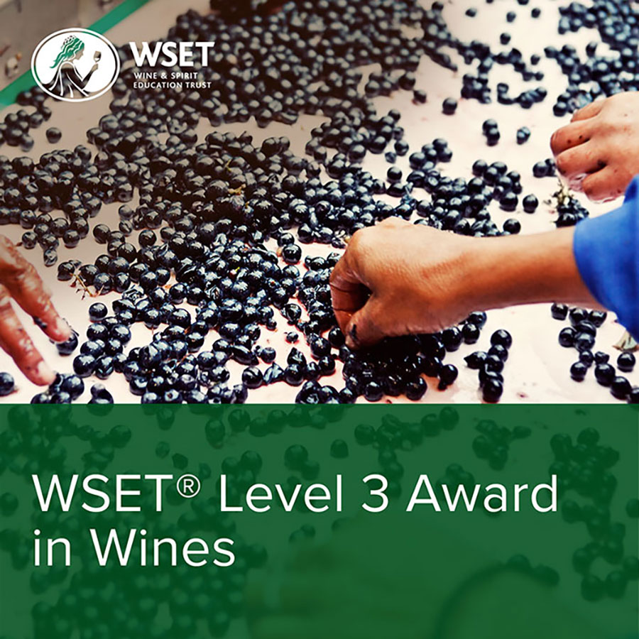 WSET LIVELLO 3 Award in Wines